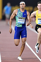 Michael Norman of United States competes to win in the men's 100m at the IAAF Diamond League Golden Gala <br /> Roma 06-06-2019 Stadio Olimpico, <br /> Meeting Atletica Leggera <br /> Photo Andrea Staccioli / Insidefoto