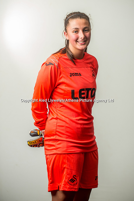 Wedensday 26 July 2017<br />Pictured: Courtney Young<br />Re: Swansea City Ladies Squad 2017- 2018 at the Liberty Stadium, Wales, UK