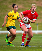 Emily Belchos in action during the 2017 International Women's Rugby Series rugby match between Canada and Australia Wallaroos at Smallbone Park in Rotorua, New Zealand on Saturday, 17 June 2017. Photo: Dave Lintott / lintottphoto.co.nz