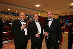Smart Solutions Mad Hatters Ball<br /> l-r: Gareth Clark, Simon Bowles &amp; Murray Amesbury.<br /> Mecure Holland House<br /> Cardiff<br /> 23.11.13<br /> &copy;Steve Pope-FOTOWALES