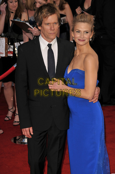 Kyra Sedgwick and Kevin Bacon attends The 14th annual Screen Actors Guild Awards (SAG Awards)  held at Shrine Auditorium, Los Angeles, California on January 27, 2008. Copyright 2007 Debbie VanStory/RockinExposures/ /