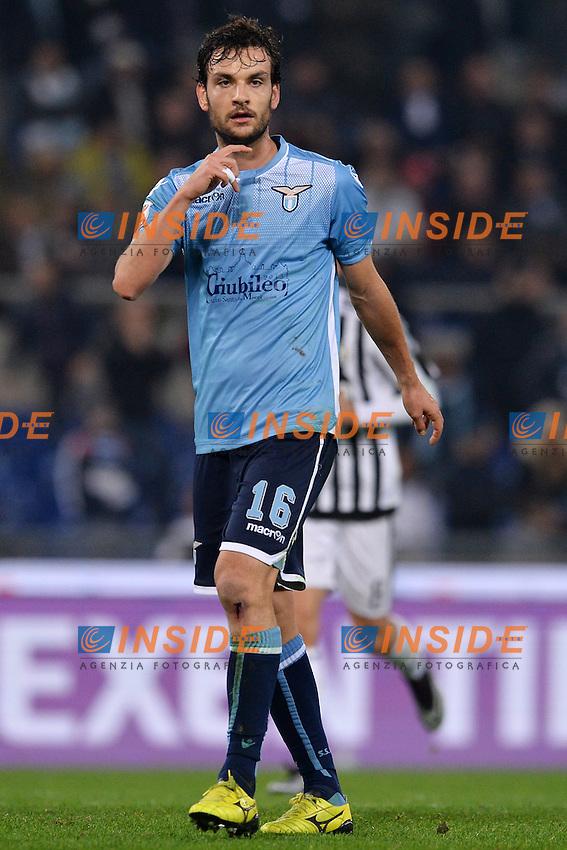 Marco Parolo Lazio.<br /> Roma 4-12-2015 Stadio Olimpico, Football Calcio 2015/2016 Serie A Lazio - Juventus. Foto Antonietta Baldassarre / Insidefoto