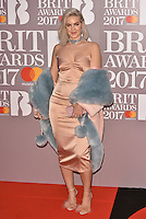 Anne Marie<br /> The Brit Awards at the o2 Arena, Greenwich, London, England on February 22, 2017.<br /> CAP/PL<br /> &copy;Phil Loftus/Capital Pictures /MediaPunch ***NORTH AND SOUTH AMERICAS ONLY***