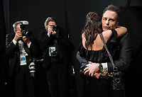 Sam Rockwell poses backstage with the Oscar&reg; for Performance by an actor in a supporting role, for work on &ldquo;Three Billboards Outside Ebbing, Missouri&rdquo; during the live ABC Telecast of The 90th Oscars&reg; at the Dolby&reg; Theatre in Hollywood, CA on Sunday, March 4, 2018.<br /> *Editorial Use Only*<br /> CAP/PLF/AMPAS<br /> Supplied by Capital Pictures