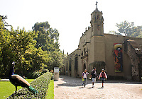 The house and museum of Dolores Olmedo, Xochimilco, Mexico City