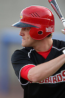 March 9, 2010:  Outfielder Jake Thornton of the Illinois State Redbirds during a game at McKethan Stadium in Gainesville, FL.  Photo By Mike Janes/Four Seam Images