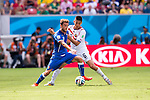Claudio Marchisio (ITA), Oscar Duarte (CRC), JUNE 20, 2014 - Football / Soccer : FIFA World Cup Brazil 2014 Group D match between Italy 0-1 Costa Rica at Arena Pernambuco in Recife, Brazil. (Photo by Maurizio Borsari/AFLO) [0855]