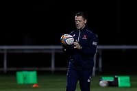 London Scottish head coach, Graham Steadman during the Championship Cup match between London Scottish Football Club and Yorkshire Carnegie at Richmond Athletic Ground, Richmond, United Kingdom on 4 October 2019. Photo by Carlton Myrie / PRiME Media Images