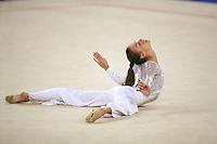 September 23, 2007; Patras, Greece;  Romina Laurito of Italy performs freehands gala exhibition at 2007 World Championships Patras.  Photo by Tom Theobald.