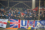 08.11.18 Spartak Moscow v Rangers: Rangers fans