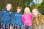 DAY OUT: Blennerville school pupils enjoying a day out at Ballyseede Woods on Thursday last as part of National Tree Day, l-r: Caitriona Horgan, Jessie Brosnan, Shelley Howarth, Leanne Quirke.