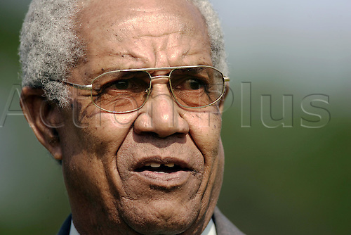 7 June 2005: Portrait of West Indian great Sir Garfield Sobers before the Twenty20 Challenge match between the Lashings World XI and Sussex CCC at East Grinstead Sports Club, Sussex. Photo: Glyn Kirk/Actionplus..050607