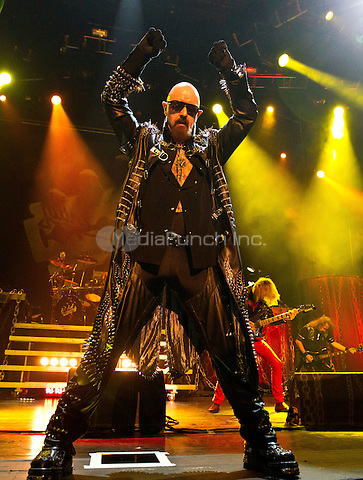 JUDAS PRIEST performs at The Joint at Hard Rock Hotel & Casino in Las Vegas, NV on October 23, 2011. © Erik Kabik / MediaPunch.***HOUSE COVERAGE***
