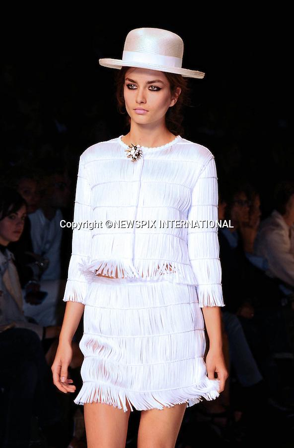"ROCCOBAROCCO.Spring/Summer 2010 Collection, Milan Fashion Week, Milano_28/09/2009.Mandatory Credit Photo: ©NEWSPIX INTERNATIONAL..**ALL FEES PAYABLE TO: ""NEWSPIX INTERNATIONAL""**..IMMEDIATE CONFIRMATION OF USAGE REQUIRED:.Newspix International, 31 Chinnery Hill, Bishop's Stortford, ENGLAND CM23 3PS.Tel:+441279 324672  ; Fax: +441279656877.Mobile:  07775681153.e-mail: info@newspixinternational.co.uk"