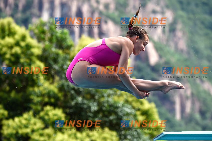 CAGNOTTO Tania ITA <br /> 3m Springboard women Final - Finale trampolino donne 3m <br /> Bolzano 03-08-2014 <br /> 20 Fina Diving Grand Prix <br /> Photo Andrea Staccioli/Insidefoto