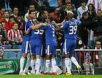 Chelsea's players celebrate goal during the UEFA Champions League match. November 3 2009. (ALTERPHOTOS/Acero)