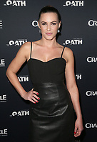 07 March 2018 - Culver City, California - Eve Mauro. &quot;The Oath&quot; TV Series Los Angeles Premiere held at Sony Pictures Studios.   <br /> CAP/ADM/FS<br /> &copy;FS/ADM/Capital Pictures
