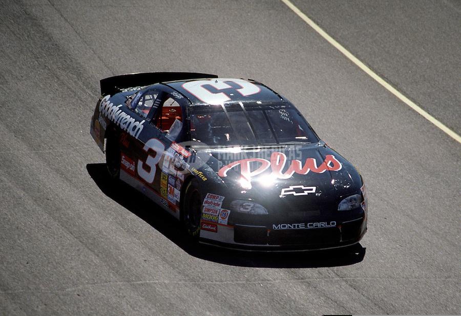 Nov. 1, 1997; Avondale, AZ, USA; NASCAR Winston Cup Series driver Dale Earnhardt Sr during the Dura Lube 500 at Phoenix International Raceway. Mandatory Credit: Mark J. Rebilas-