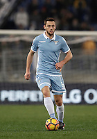 Calcio, Serie A: Lazio, Stadio Olimpico, 13 febbraio 2017.<br /> Lazio's Stefan De Vrij in action during the Italian Serie A football match between Lazio and Milan at Roma's Olympic Stadium, on February 13, 2017.<br /> UPDATE IMAGES PRESS/Isabella Bonotto