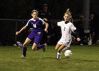Girls Soccer vs Yorktown 10-21-09 Regional