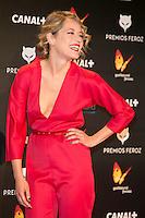 Marta Larralde attends the Feroz Cinema Awards 2015 at Las Ventas, Madrid,  Spain. January 25, 2015.(ALTERPHOTOS/)Carlos Dafonte) /NortePhoto<br /> <br /> nortePhoto.com