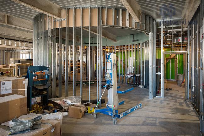 March 8, 2017; Duncan Student Center 1st floor under construction (Photo by Matt Cashore/University of Notre Dame)