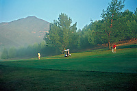 Golf Course, Golf, Resort, Fairway, Sand, Bunker, Golfing, Trees, rolling fairways, beautiful, natural, Greens, Sand Trap, Hazard, Bunker, Mountains, rough,  open fairway,