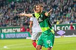 10.02.2019, Weser Stadion, Bremen, GER, 1.FBL, Werder Bremen vs FC Augsburg, <br /> <br /> DFL REGULATIONS PROHIBIT ANY USE OF PHOTOGRAPHS AS IMAGE SEQUENCES AND/OR QUASI-VIDEO.<br /> <br />  im Bild<br /> Max Kruse (Werder Bremen #10)<br /> sauer <br /> <br /> <br /> Foto © nordphoto / Kokenge