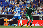 League Santander 2017-2018 - Game: 2<br /> RCD Espanyol vs CD Leganes: 0-1.<br /> Sergio Garcia vs Ruben Perez.