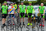 "Ready for the K110 are members of Athea C.C. Liam Beehan, Michael O' Callaghan, Ted Ahern, Ray Enright , Jer Cahill Abbeyfeale Cycling Club held their annual 60K & 110K ""Abbey Classic Charity Cycle""  last Sunday"