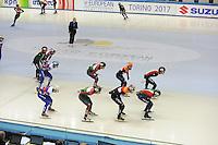SHORT TRACK: TORINO: 15-01-2017, Palavela, ISU European Short Track Speed Skating Championships, ©photo Martin de Jong