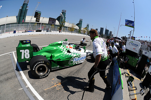8-10 July, 2011, Toronto, Ontario CA<br /> Simona De Silvestro<br /> (c)2011, Paul Webb<br /> LAT Photo USA