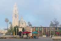 Misty Morning at Balboa Park in San Diego California