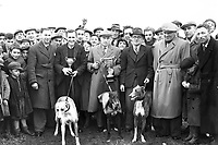 Coursing in Kerry in the 1950's.<br /> Picture: macmonagle archive<br /> e: info@macmonagle.com