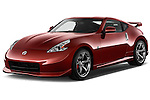 Front three quarter view of a .2013 Nissan 370Z Nismo Coupe
