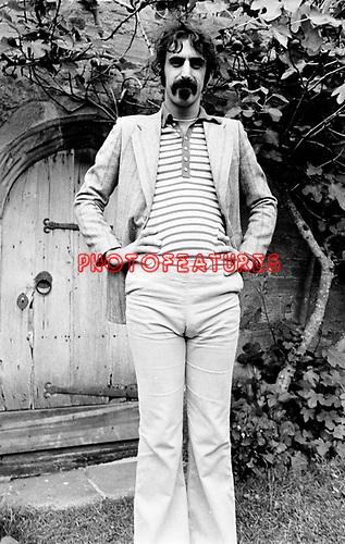 Frank Zappa 1970 Bath Festival<br /> &copy; Chris Walter
