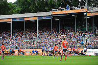 A general view of the new Gem Stand at the Recreation Ground. Aviva Premiership match, between Bath Rugby and Newcastle Falcons on September 10, 2016 at the Recreation Ground in Bath, England. Photo by: Patrick Khachfe / Onside Images
