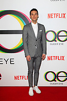 "LOS ANGELES - FEB 7:  Raymond Braun at the ""Queer Eye"" Season One Premiere Screening at the Pacific Design Center on February 7, 2018 in West Hollywood, CA"