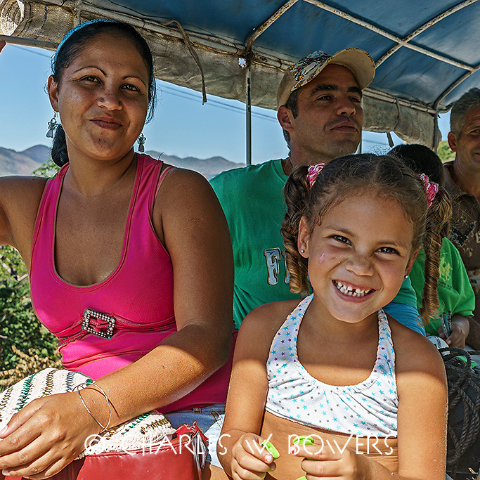 Faces Of Cuba - Out with the family for the day.<br />