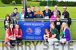 The relations of John Hannon who ran in his memorial race in Brosna on Saturday front row l-r: David Keane, Catriona, Katelyn Doolina, Tracey Sheehy, Kathleen Doolin, Kieran Keane and Sheila Stack. Back row: Cairan Doolin, Jayne Hannon, Daniel Hannon, emmet Doolin, Conor Doolin, David Hannon, Vincent Keane, Noreen Sheehy and Danny Guerin
