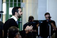 Roma, 20 Settembre 2019<br /> Aula bunker di Rebibbia.<br /> Processo Cucchi Bis, requisitoria del PM Giovanni Musarò.<br />  Processo Cucchi Bis contro i Carabinieri accusati della morte di Stefano Cucchi