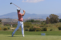 Jens Fahrbring (SWE) on the 2nd tee during Round 3 of the Rocco Forte Sicilian Open 2018 played at Verdura Resort, Agrigento, Sicily, Italy on Saturday 12th May 2018.<br /> Picture:  Thos Caffrey / www.golffile.ie<br /> <br /> All photo usage must carry mandatory copyright credit (&copy; Golffile   Thos Caffrey)