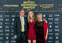 Picture by Allan McKenzie/SWpix.com - 04/11/17 - Swimming - British Swimming Awards 2017 - The Poiint, Lancashire County Cricket Ground, Manchester, England - Red carpet, guests, Sophie Jackson.