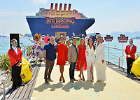 Genndy Tartakovsky, Janina Uhse, Rick Kavanian, Anke Engelke, Raya Abirached &amp; Lesia Nikitiuk at the photocall for &quot;Hotel Transylvania 3: A Monster Vacation&quot; at the 71st Festival de Cannes, Cannes, France 07 May 2018<br /> Picture: Paul Smith/Featureflash/SilverHub 0208 004 5359 sales@silverhubmedia.com
