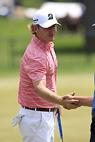 Brandt Snedeker (USA) waits to start his match during Sunday's Final Round of the 117th U.S. Open Championship 2017 held at Erin Hills, Erin, Wisconsin, USA. 18th June 2017.<br /> Picture: Eoin Clarke | Golffile<br /> <br /> <br /> All photos usage must carry mandatory copyright credit (&copy; Golffile | Eoin Clarke)