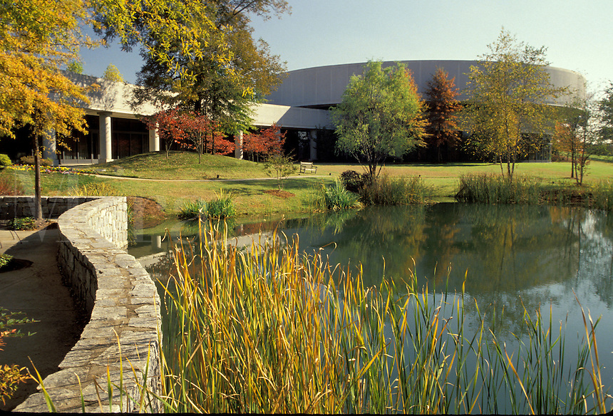 Georgia, GA, Atlanta, Carter Presidential Center and Museum of the Jimmy Carter Library.