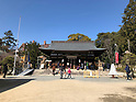 Yuzuruha Shrine in Kobe, Japan