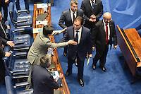BRASÍLIA, DF, 01.02.2017 – PRESIDÊNCIA-SENADO – O presidente eleito do Senado, Eunicio Oliveira, durante Sessão no Senado após sua eleição, nesta quarta-feira, 01.02/02 - (Foto: Ricardo Botelho/Brazil Photo Press)