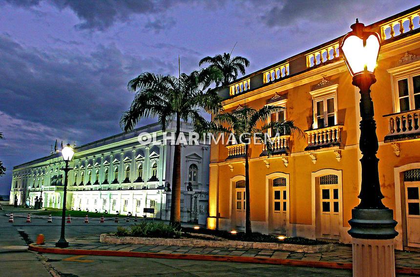 Prefeitura e Palácio dos Leões, centro histórico de São Luis. Maranhao.2007. Foto de Rogério Reis.