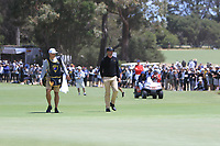 Adam Scott (International) on the 15th during the First Round - Four Ball of the Presidents Cup 2019, Royal Melbourne Golf Club, Melbourne, Victoria, Australia. 12/12/2019.<br /> Picture Thos Caffrey / Golffile.ie<br /> <br /> All photo usage must carry mandatory copyright credit (© Golffile | Thos Caffrey)